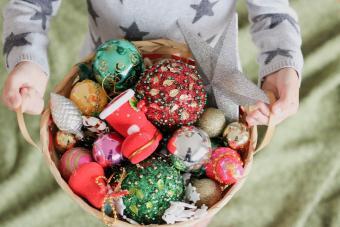 Trim-the-Tree Gift Basket