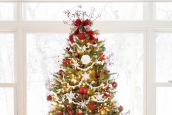 Cranberry Christmas tree