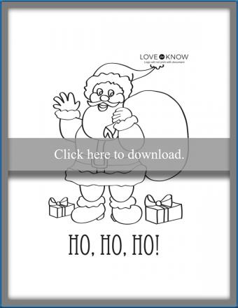 HoHoHo Christmas card