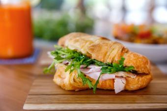 Honey Thyme Croissant Sandwich