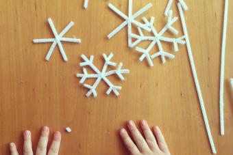 Snowflake Craft Project