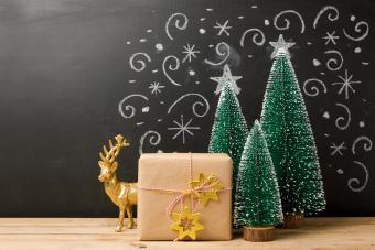 Christmas holiday message board