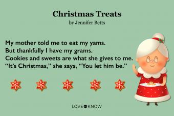 Christmas Treats Poem