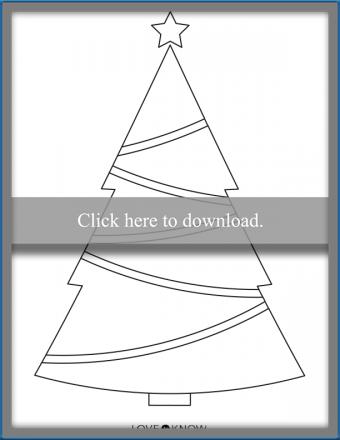 Traditional Christmas Tree Shape