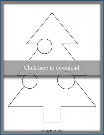 Modern Christmas Tree Shape