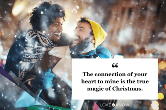 Romantic Christmas Quote to Share
