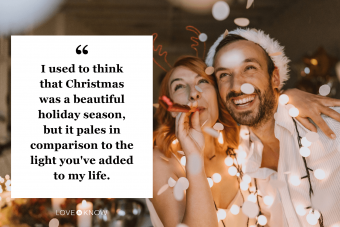 Inspiringly Perfect Christmas Love Quote