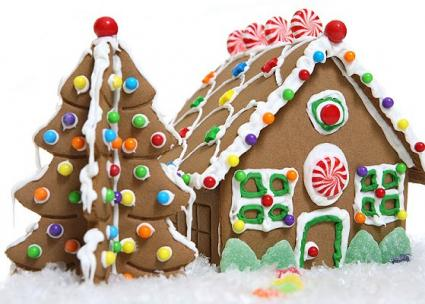 Pictures Of Gingerbread Houses Lovetoknow