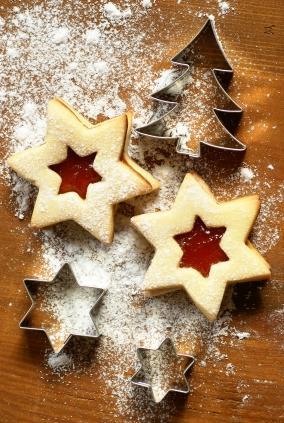 food gifts christmas cookies