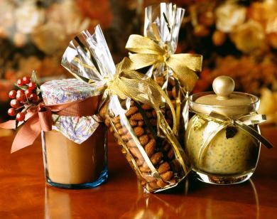 decorative jarred gifts