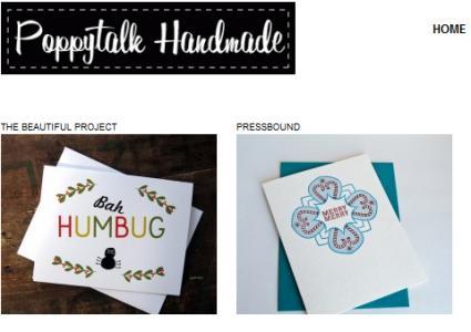 Poppytalk Handmade online store