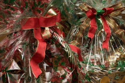 christmas gift baskets - Christmas Basket Decoration Ideas