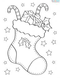Christmas Pictures to Color 3