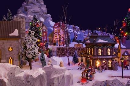 Miniature Christmas Village.Lemax Christmas Village Miniatures Lovetoknow