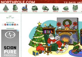 Screenshot of Northpole.com