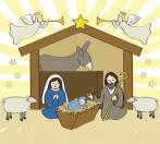 Christmas Clip Art 9 nativity