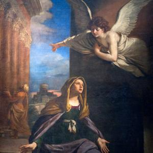 An angel spoke to Mary