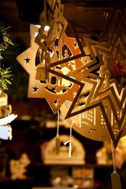 german tree ornaments wooden star ornaments - German Handmade Wooden Christmas Decorations