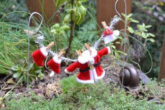 Fairy Garden Miniature Santa Suit