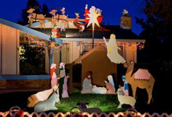 crafty handmade Christmas decorations