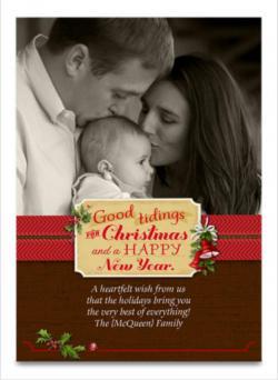 Hallmark Christmas Card