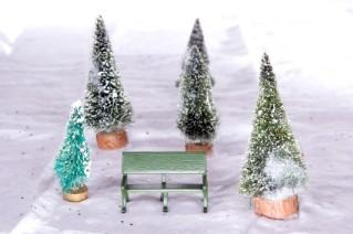 christmas village accessories - Miniature Christmas Village