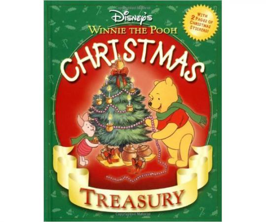 disneys winne the pooh christmas treasury