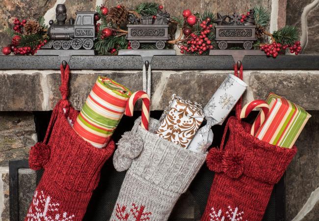 stocking holders - Decorative Christmas Stocking Holders