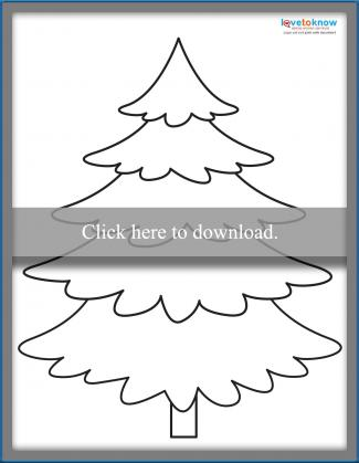 photograph relating to Free Printable Christmas Tree Template referred to as Xmas Tree Templates toward Print LoveToKnow