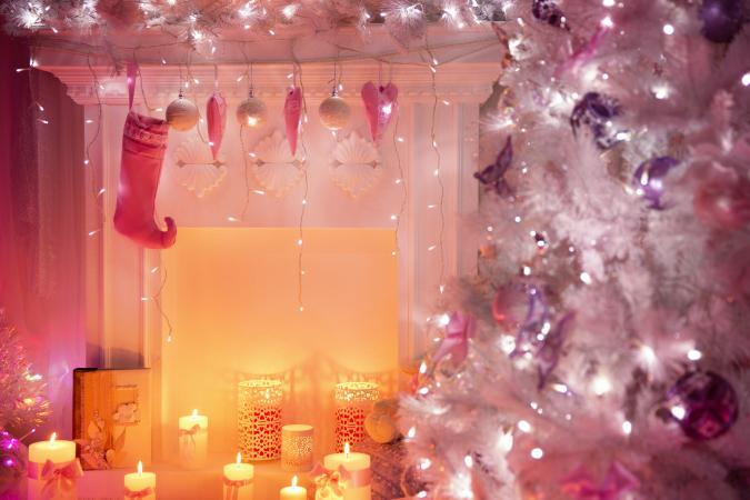 pink christmas - Pink Christmas Decorations