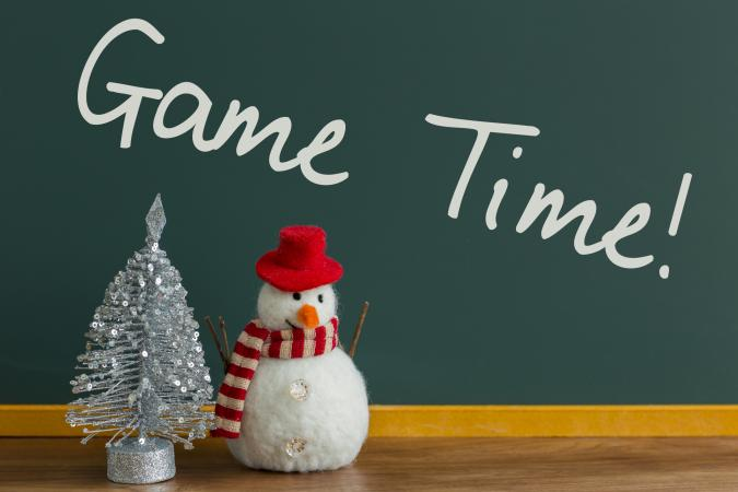 christmas chalkboard - Christmas Decoration Games