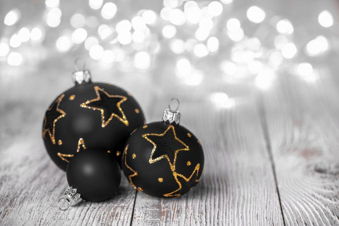 Black Christmas Ornaments.Black Christmas Ornaments Lovetoknow