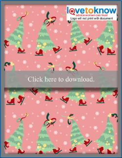 Dancing Christmas Trees Wallpaper - Thumb