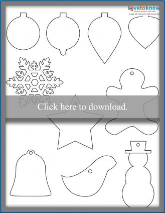 Christmas Ornaments Shapes