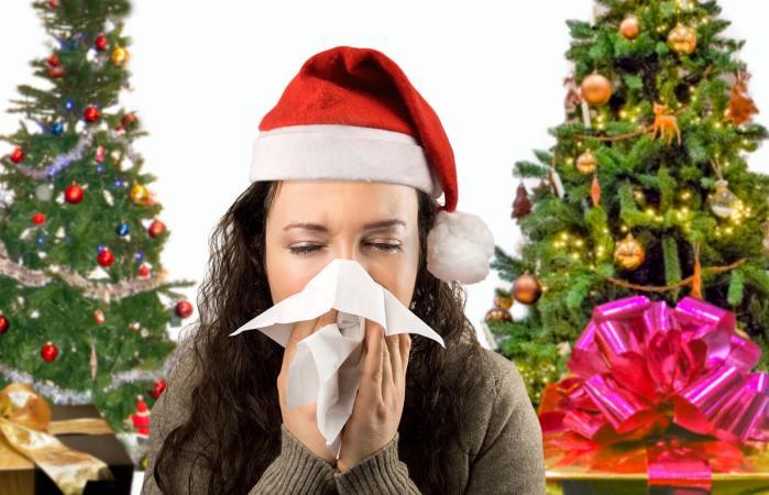 Christmas tree allergies