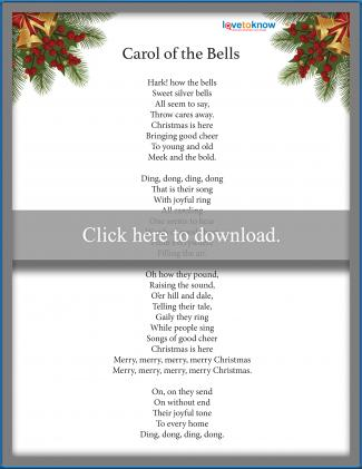 Carol of the Bells Christmas Carol
