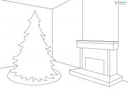 Christmas Room Scene