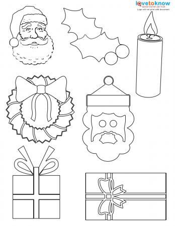 Christmas shapes