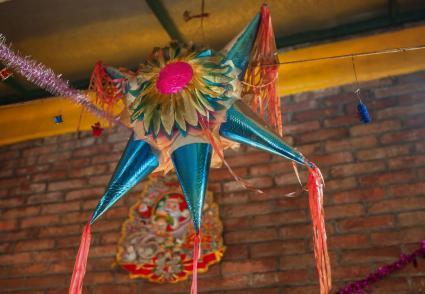Star christmas Piñata