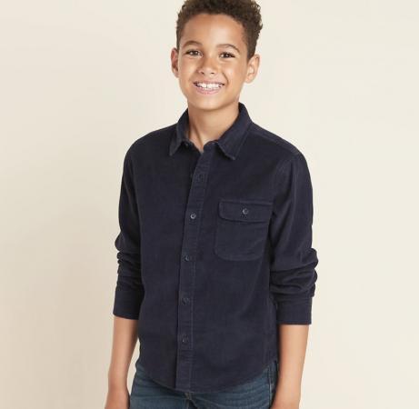 Old Navy Corduroy Long-Sleeve Shirt for Boys