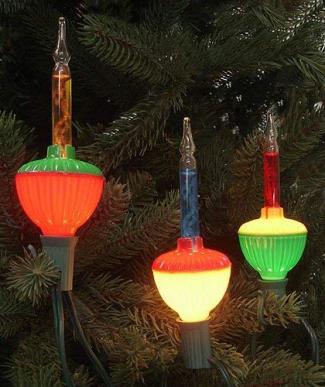 Multi-Color Retro Christmas Bubble Lights