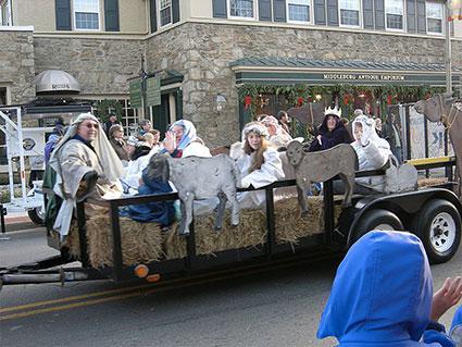 Nativity Float