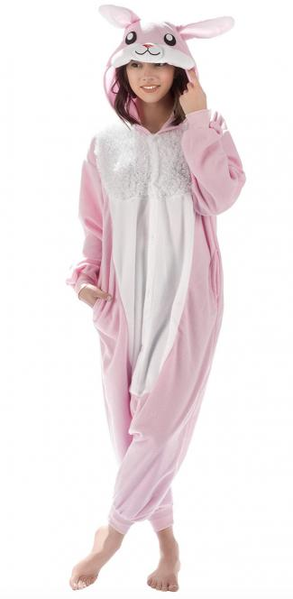Bunny Animal Onesie Costume Pajamas