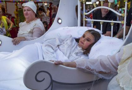 Nursery Rhyme Christmas Float