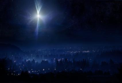 Star of Bethlehem Night Sky