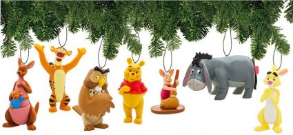 Disney Winnie The Pooh Ornament Set