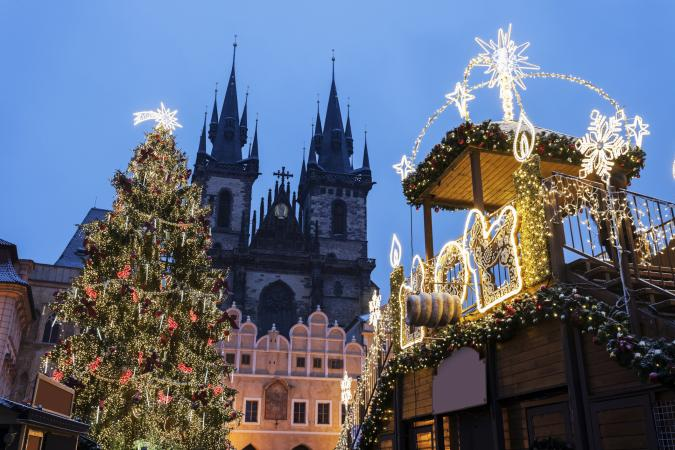 Christmas in the Czech Republic, Prague