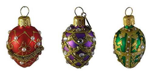 Unicef Bejeweled Christmas Ornaments