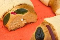 Traditional Christmas Rosca de Reyes