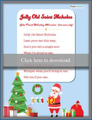 20 Easy Christmas Songs For Preschoolers Lovetoknow